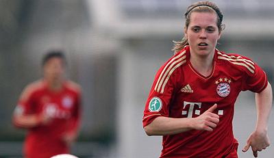 Katharina Baunach (Bayern München) auf dem Weg der Besserung