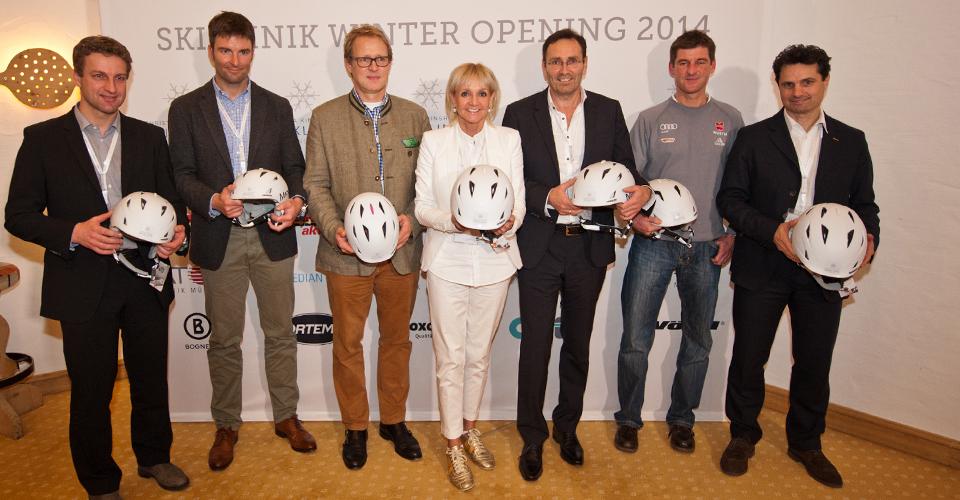 Ski Opening 2014 bei der Christa Kinshofer Skiklinik