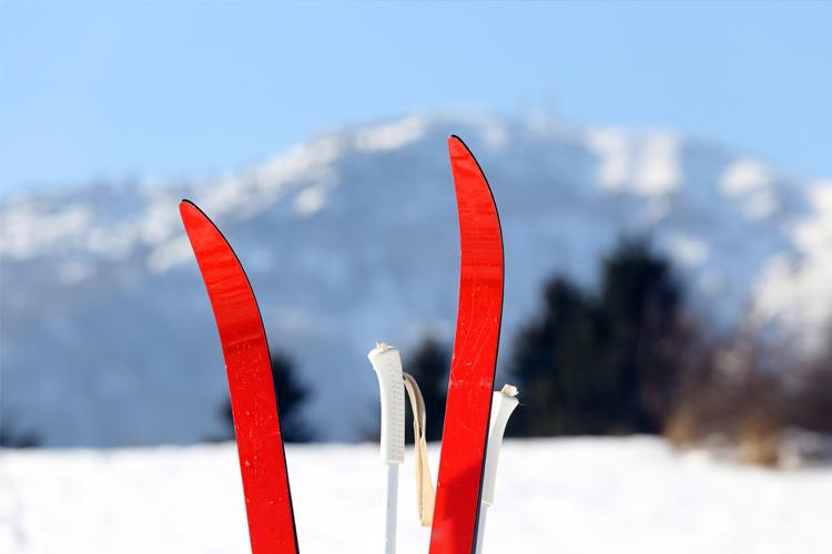 Skifahren gegen Rückenschmerzen