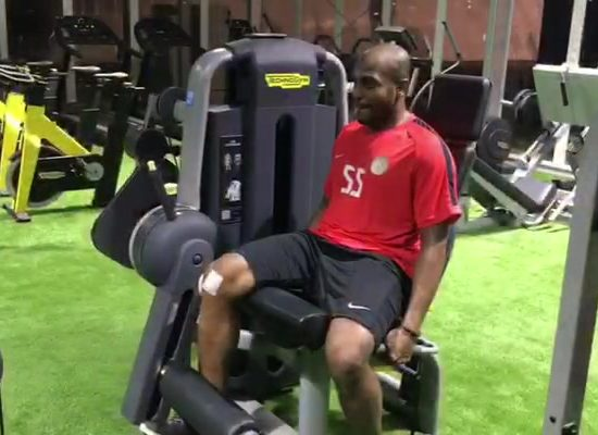 Ali Khaseif: Fit after knee op
