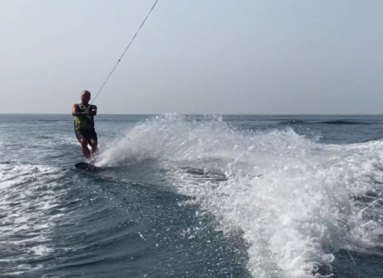 Water skiing after knee surgery