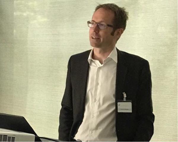 PD Dr. Weber auf Symposium